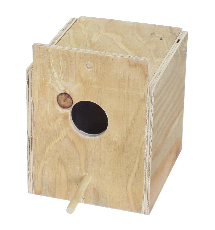 YML Assembled Wooden Nest Box for Outside Mount