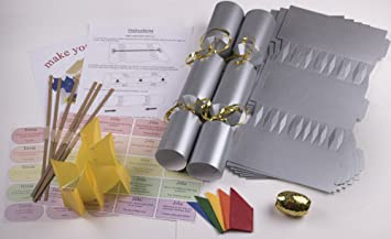10 x make your own large 14 35cm christmas cracker kits 10 x make your own large 14 35cm christmas cracker kits solutioingenieria Choice Image