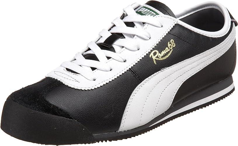 | PUMA Men's Roma 68 Vintage Sneaker, BlackWhite