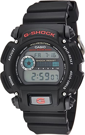 Casio Mens G-Shock Quartz Resin Sport Watch