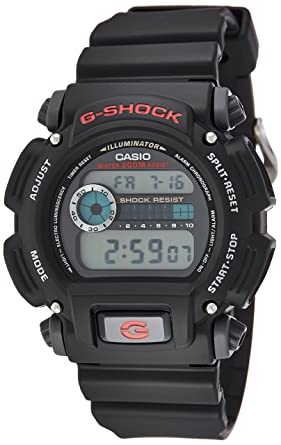 6858bf9329c Casio Men s G-Shock DW9052-1V Shock Resistant Black Resin Sport Watch