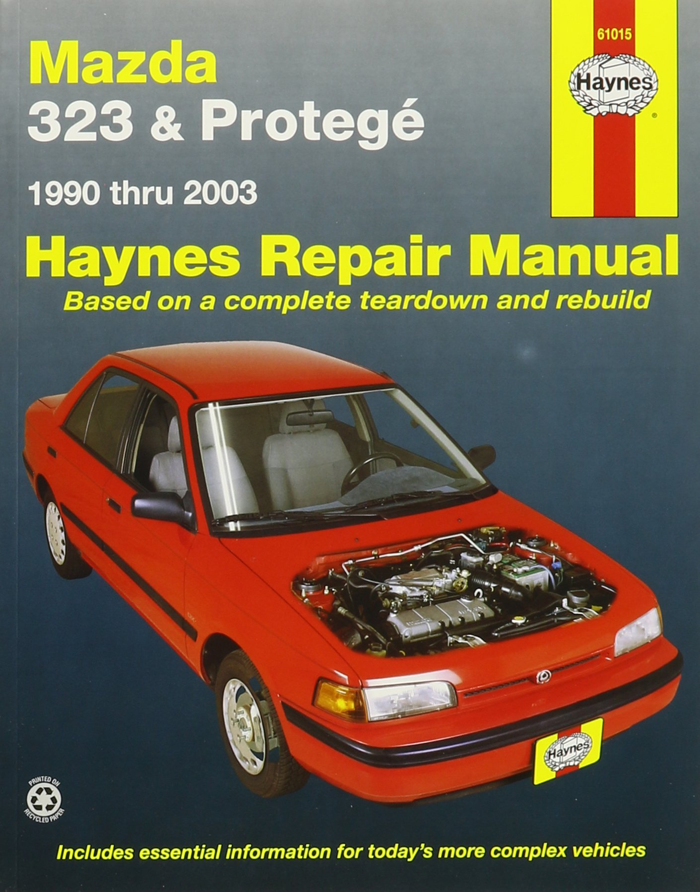 Haynes Repair Manuals Mazda 323 & Protege, 90-00 (Excludes information  specific (61015): 0038345610158: Amazon.com: Books