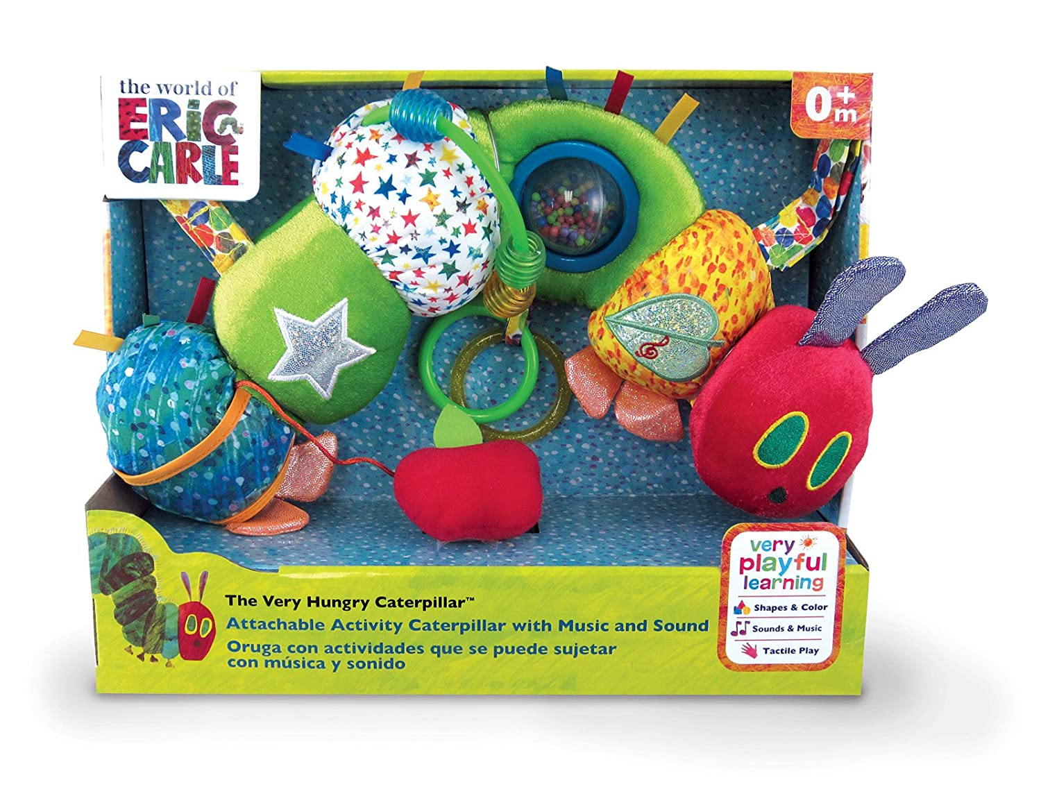 amazon com world of eric carle activity caterpillar baby