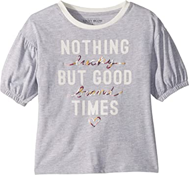 lucky brand kids t-shirt size 6