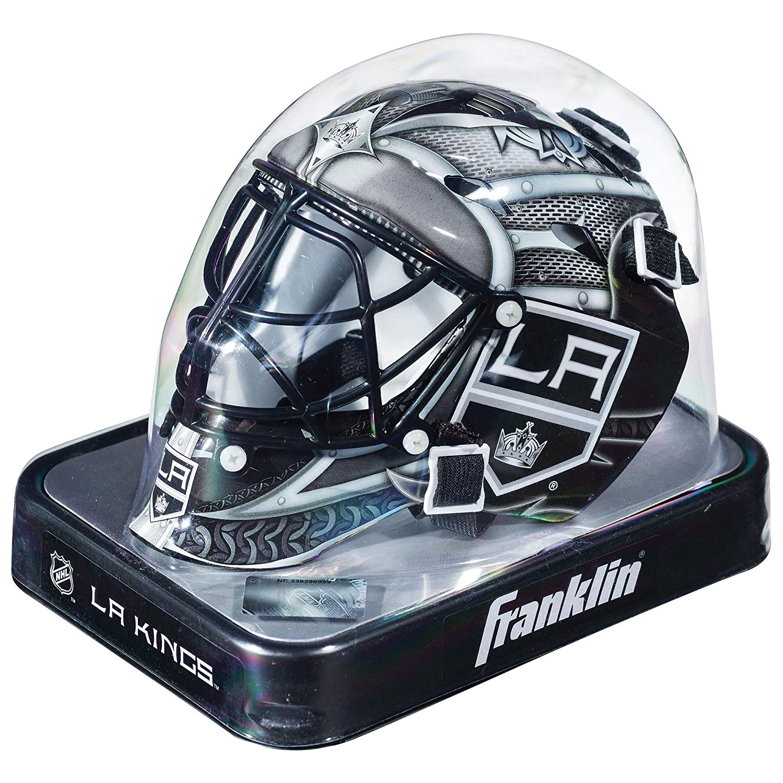 Franklin Sports NHL League Logo Mini Masque de Gardien Mixte Blanc Inc. 7784F15