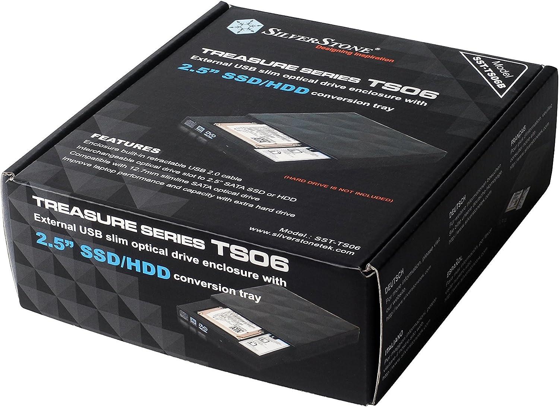 Silverstone Treasure TS06 - Bandeja de conversión (25