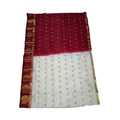 Adhrit Creations Traditional Saree at Amazon Women's Clothing store