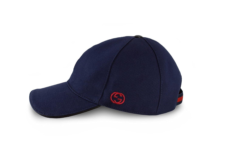 Gucci 387554 - Gorra de béisbol (algodón), Color Azul Marino ...