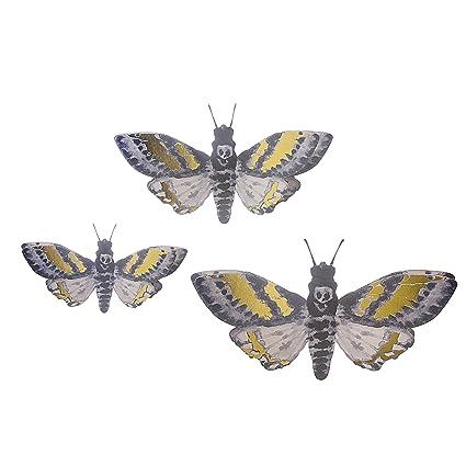 Amazon.com: Martha Stewart 30034325 Halloween Paper Moths Wall Decor