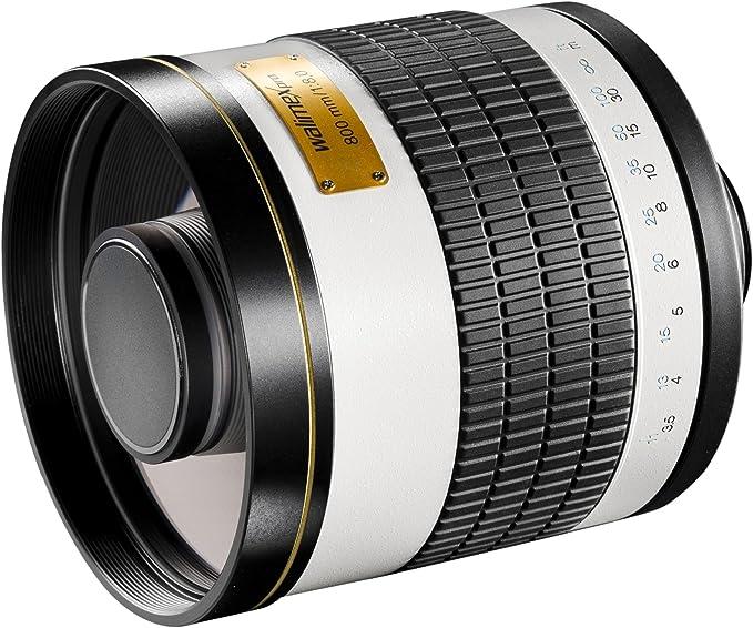 Walimex Pro 800mm 1 8 0 Csc Spiegelobjektiv Für Fuji X Kamera