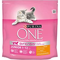 Purina One Bifensis Junior Rico en Pollo - 1,5 kg  [Pack de 6]