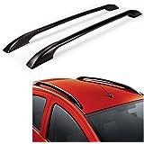 True Vision Car Drill Roof Rail for Hyundai Accent (Black)