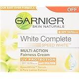 Garnier Skin Naturals SPF 19 PA++ White Complete UV Protection, 18g