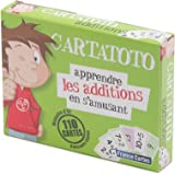 France Cartes - 410001 - Apprendre les additions en s'amusant - Cartes - 7 Familles - Cartatoto