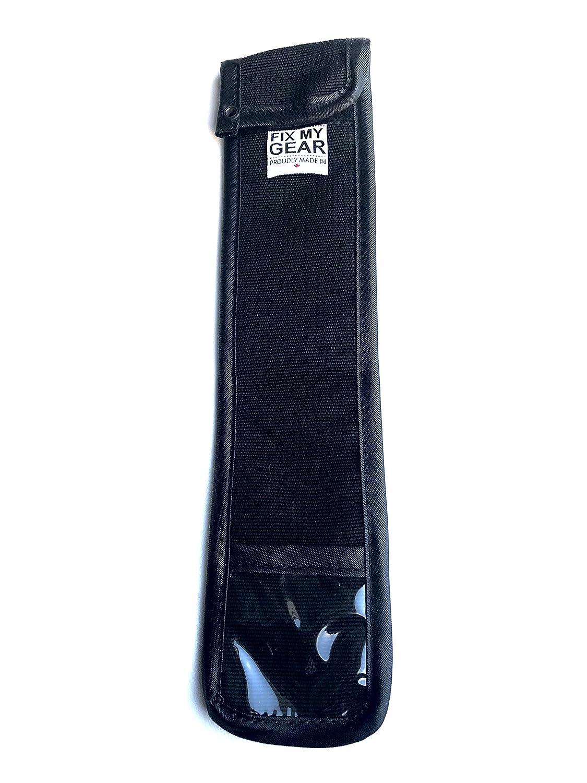 Hockey patines hoja bolsa, negro: Amazon.es: Deportes y aire ...
