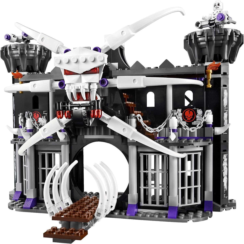LEGO Ninjago Garmadons Dark Fortress 2505