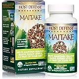 Host Defense, Maitake Capsules, Promotes Normal Blood Sugar Metabolism Already Within The Normal Range, Daily Mushroom Supplement, Vegan, Organic, 60 Capsules (30 Servings)