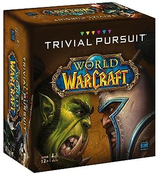 Winning Moves Trivial Pursuit World of Warcraft Niños y Adultos Juegos de Preguntas - Juego de