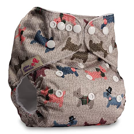 Fastener: Popper Littles /& Bloomz Without Insert Pattern 100 Reusable Pocket Cloth Nappy Set of 1