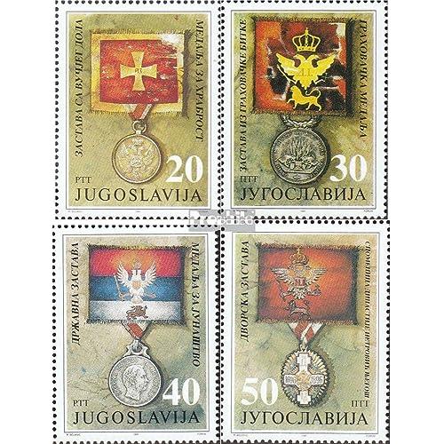 Yougoslavie 2510-2513 (complète.Edition.) 1991 Flags et ordre (Timbres pour les collectionneurs)
