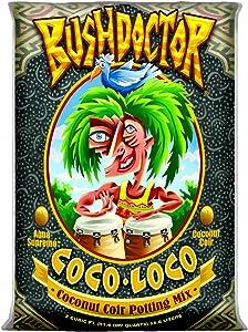 FoxFarm FX14100 Coco Loco Potting Mix, 2 Cubic Feet, Brown/A