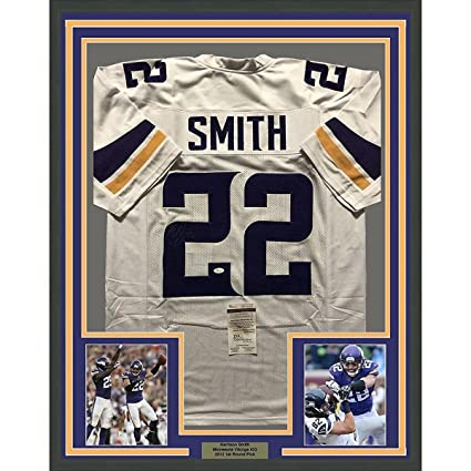 ... promo code for autographed signed harrison smith minnesota color rush football  jersey jsa christmas holiday 648f6 ... 703c2a51c