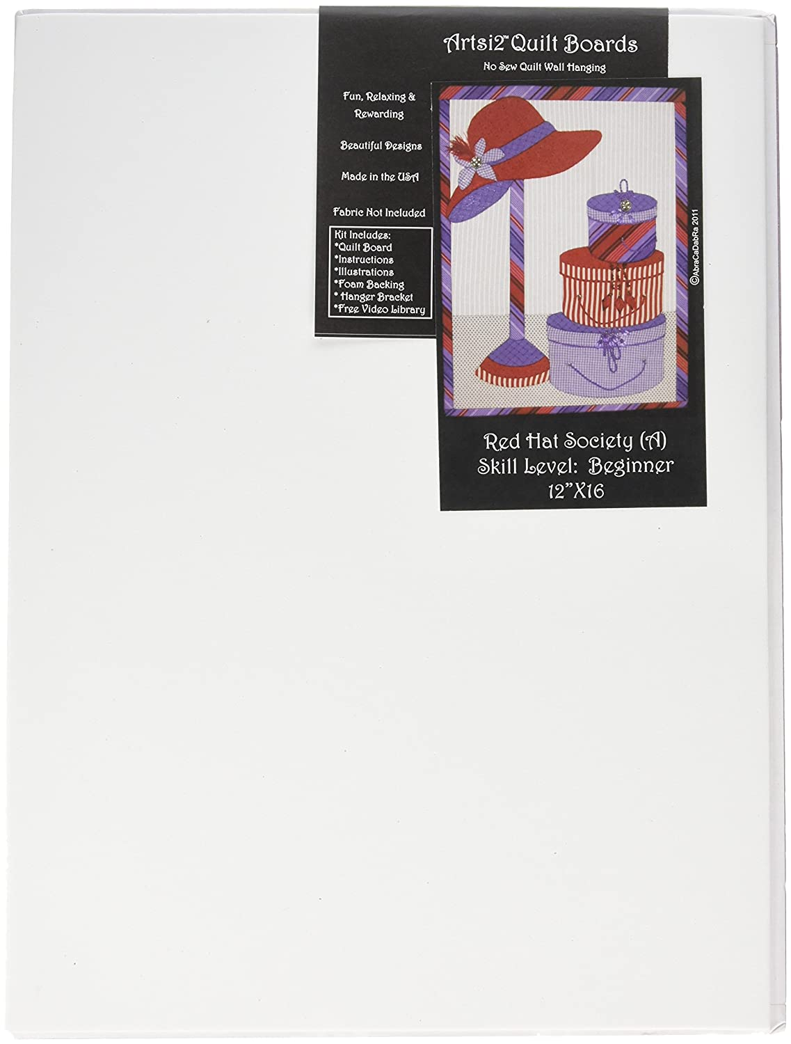 Artsi2 A2RDHTSY Red Hat Society Wall Hanging Kit AbraCaDabRa