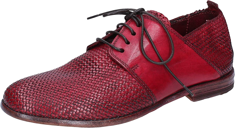 MOMA Chaussures /él/égantes Femme Cuir Rouge