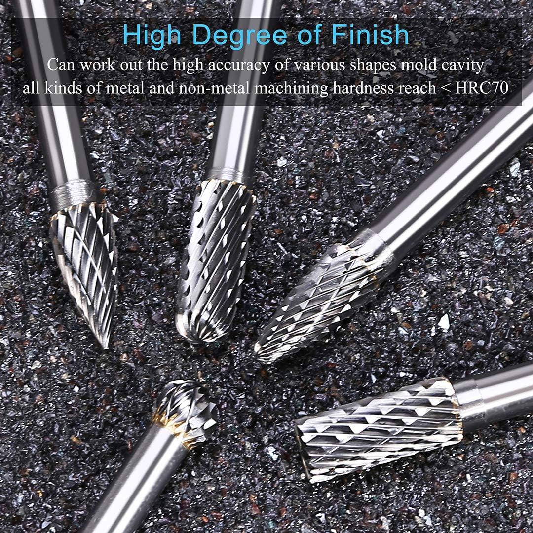 3-1//4 Length 1-1//4 Cutting Length 1//2 Cutting Diameter 0.030 Corner Radius 1//2 Cutting Diameter 1-1//4 Cutting Length 1//2 Shank Diameter SGS 36859 Z1PCR Z-Carb-AP High Performance End Mill 1//2 Shank Diameter Titanium Nitride-X Coating