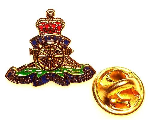 017b7aa2fd9d Royal Artillery Lapel Pin Badge (Metal / Enamel): Amazon.co.uk: Clothing