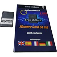 MpGames Free McBoot Memory Card PS2 64 MB Playstation 2 FMCB 1.966 freemcboot