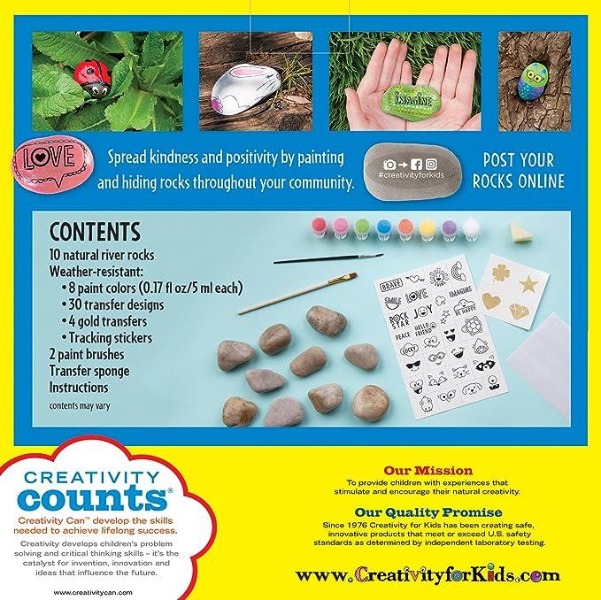 Buy Creativity for Kids Hide and Seek Rock Painting Kit Online at ...