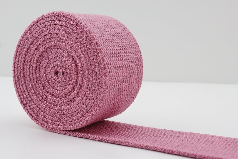 3,8/cm Khaki Gewicht Polyester Baumwolle Gurtband 5/Meter zb29 38/mm