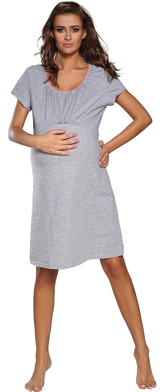 Italian Fashion IF Camis/ón Premam/á Lactancia Mujer D1GN1 0114
