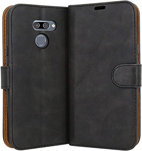 Case Collection Funda de Cuero para LG K50 (6,26