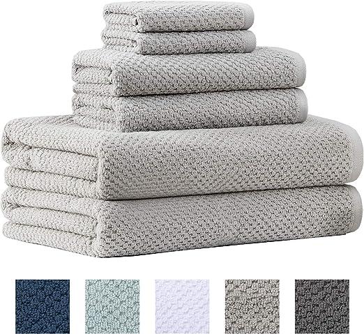 Towels Set 2 Bath or 2 Hand Towels 100/% Cotton