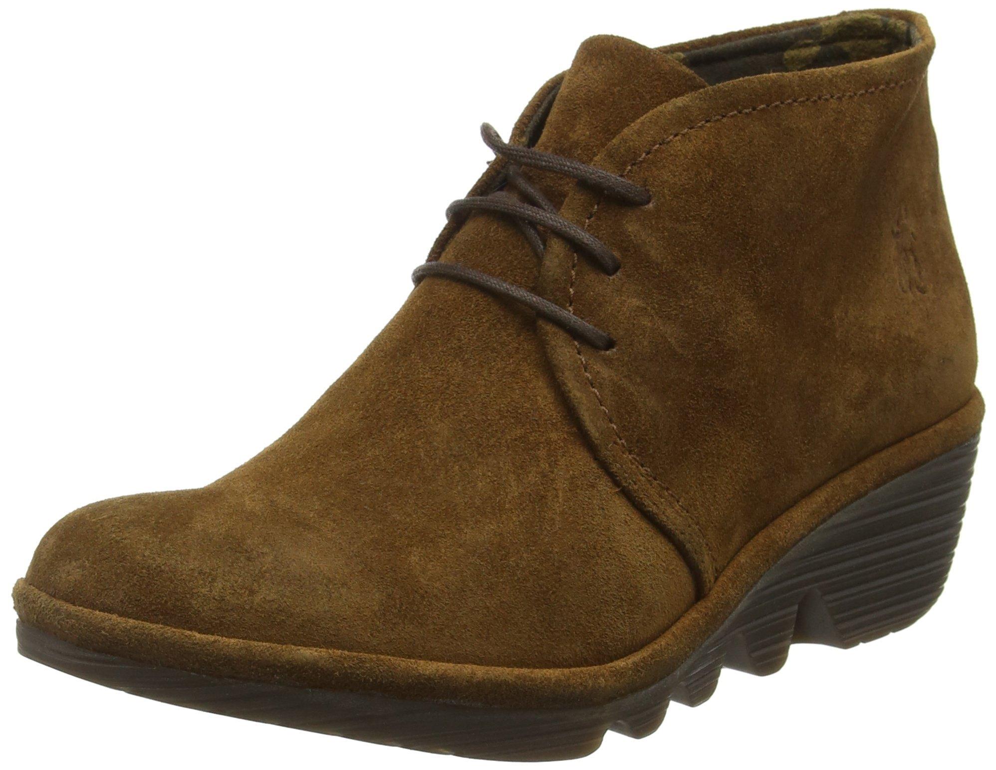 fly london women 39 s pert desert boots brown camel 049 2 5. Black Bedroom Furniture Sets. Home Design Ideas