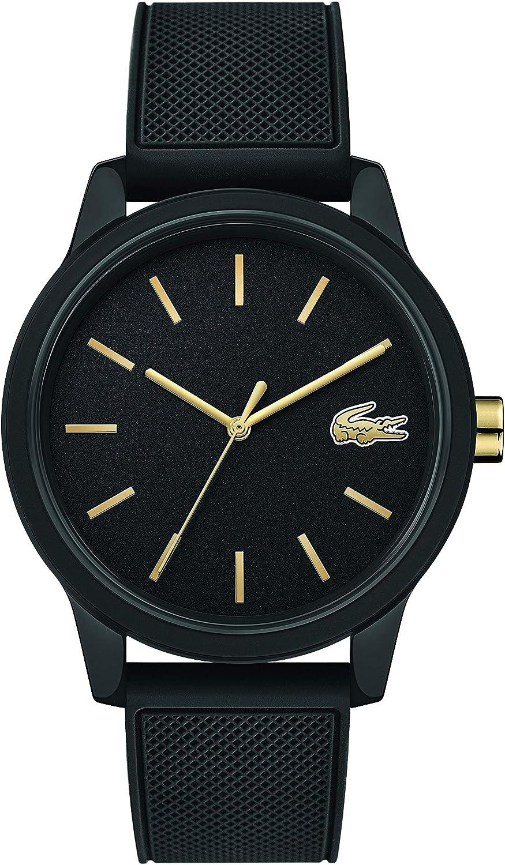 Lacoste Reloj de Hombre Cuarzo 42mm Correa de Goma Caja de plástico 2011010