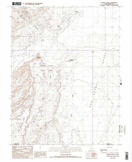 Amazon.com: Utah Maps | 1988 Goblin Valley, UT USGS ... on valley of fire map, hardware ranch map, athabasca glacier map, ogden map, fisher towers map, american fork canyon map, death valley tourist map, water quality map, coral pink sand dunes map, logan map, negro bill canyon map, red rock canyon map, cedar breaks map, tornado valley map, pelican lake map, timpanogos cave map, brian head map, little cottonwood canyon map, sego canyon map, great salt lake map,