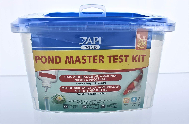 API Pond Master Test KIT Pond Water Test Kit 500-Test