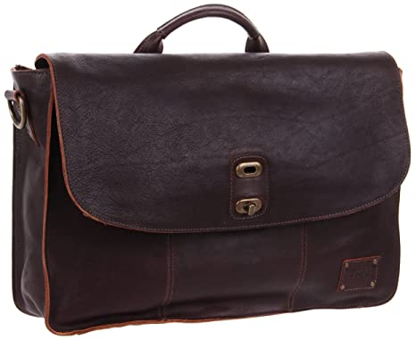 Amazon.com  Will Leather Kent Messenger Bag, Brown, One Size ... befda45c5e