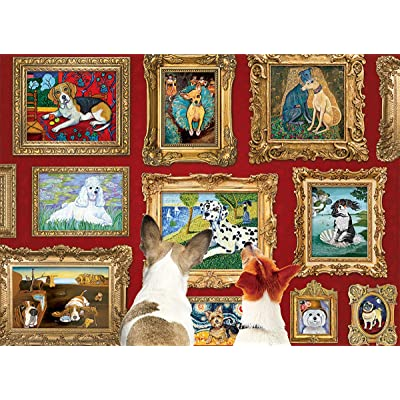Cobblehill 80014 1000 pc Dog Gallery Puzzle, Various: Toys & Games