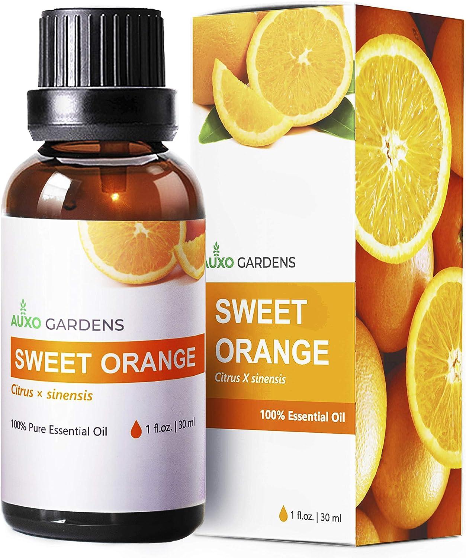 Sweet Orange Essential Oil 1 oz (30ml) -100% Natural and Pure Therapeutic Grade-Premium Quality Italian Orange Oil