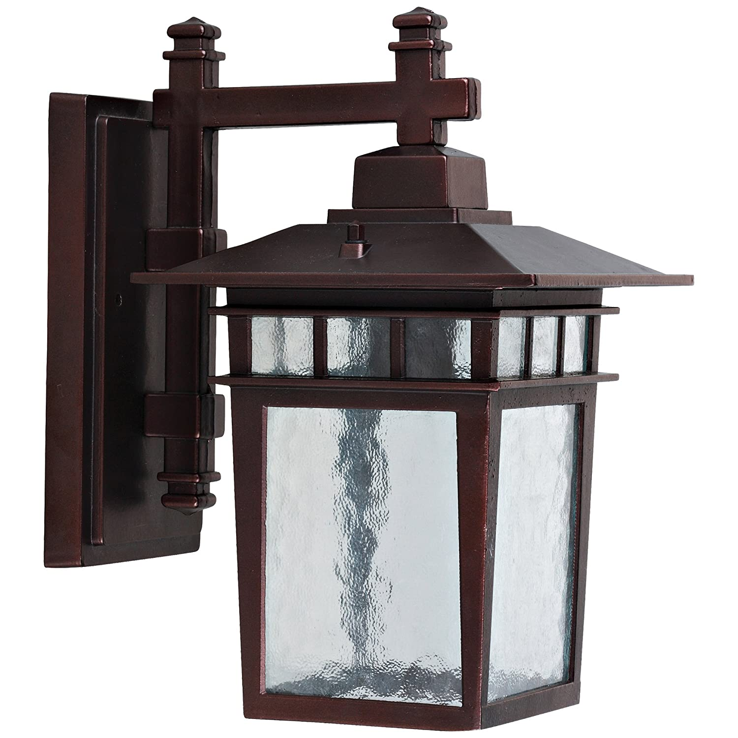 Yosemite Home Decor 2072SDIORB Dante 1-Light Exterior Wall Sconce ...