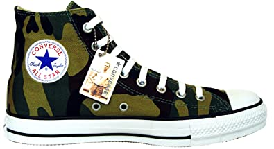 Converse Chuck Taylor All Star Colour: Green Camouflage Woofland Size: EU: 41 Limited Edition UK 7