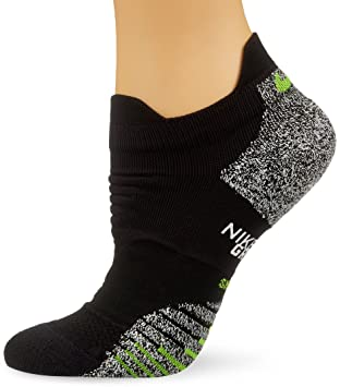 Nike W Ng LTWT Low Calcetines, Mujer, Negro (Black/Volt),