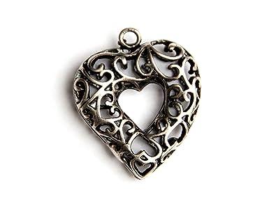 Pracht Creatives Hobby Pendant Metal Heart 26 Mm Amazon Co Uk