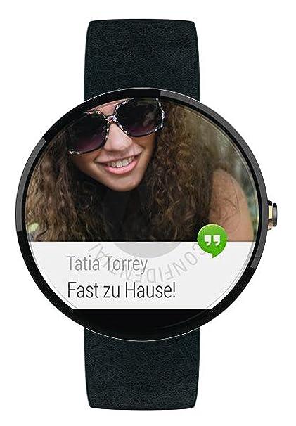 Amazon.com: Motorola Moto 360 Smartwatch (Black)