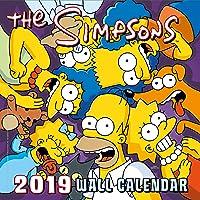 Simpsons Official 2019 Calendar - Square Wall Calendar Forma