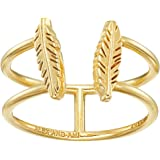 Alex and Ani Womens Feather Ring